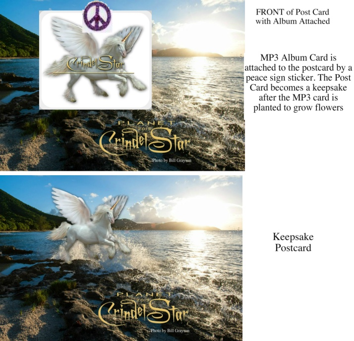 Post Card and MP3 ALBUMcard