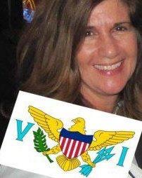 Author, Gigi de Lugo, 4th Generation Virgin Islander