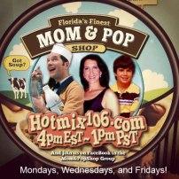 Catch Author Gigi de Lugo's Interview on the Mom & Pop Shop ! Wed. January 30th, 2013 - 4pm EST !