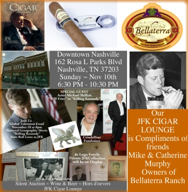 JFK CIGAR LOUNGE by Bellaterra Ranch
